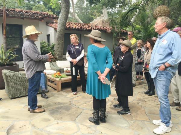 Jay Griffth leading Sullivan Canyon Tour Photo Linda Lucks web