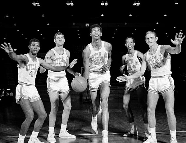 """Mike Warren (far left) was the captain for three years of UCLA's NCAA championship teams in the 1960s.  He later went on to star in """"Hill Street Blues."""" Meet him at THE Party."""