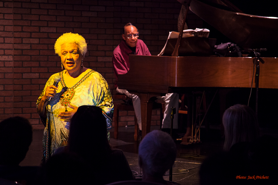 Legendary jazz singer Barbara Morrison sings
