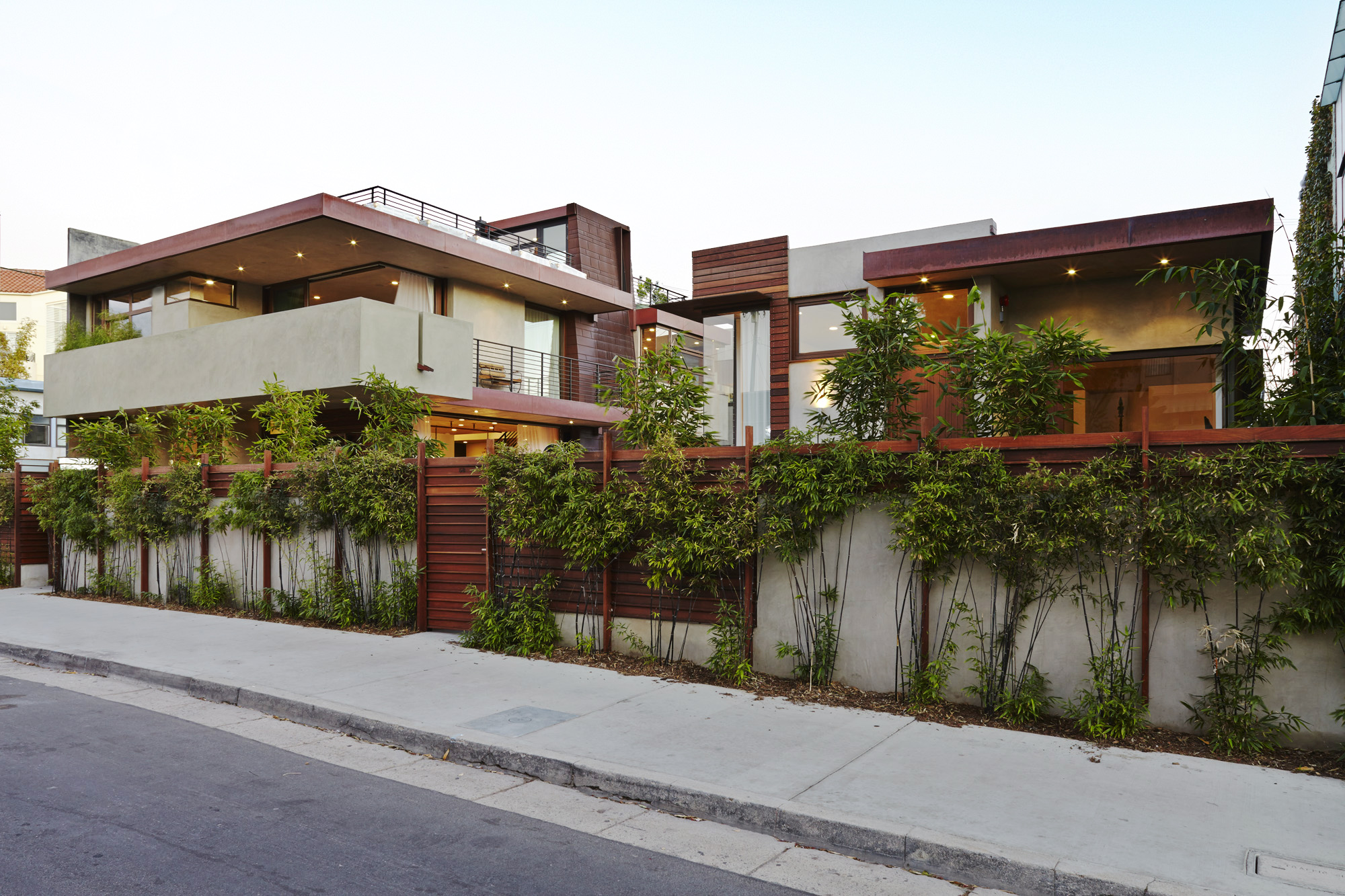 Exterior of house in Venice, CA