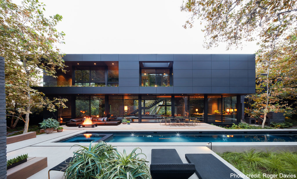 Mandeville Canyon house in Brentwood